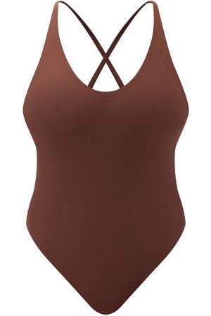Jade Swim Mila Cross-strap Swimsuit - Womens
