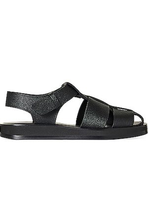 The Row Fisherman Leather Sandals in
