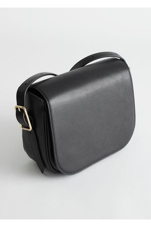 & OTHER STORIES Women Purses - Buckled Leather Crossbody Bag