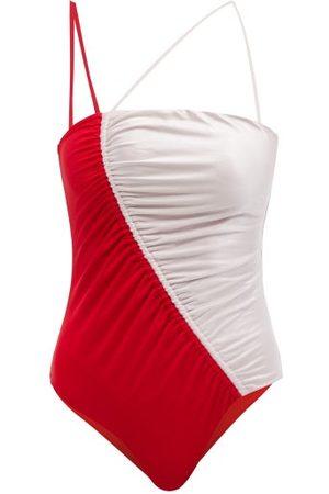 Isa Boulder Women Swimsuits - Leonard Drawstring Swimsuit - Womens - Multi