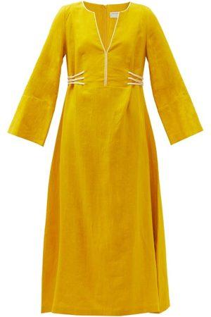 ZEUS+DIONE Women Beach Dresses - Hydra Linen Kaftan - Womens