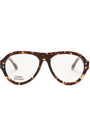 Isabel Marant Trendy Aviator Tortoiseshell-acetate Glasses - Womens - Tortoiseshell