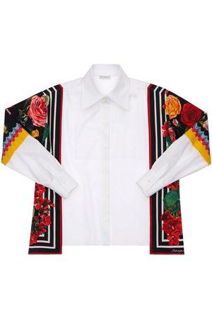 Dolce & Gabbana Cotton Poplin Shirt