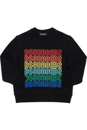 Dsquared2 Girls Sweatshirts - Printed Cotton Sweatshirt