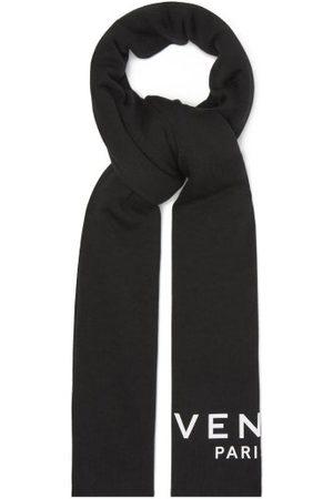 Givenchy Logo-print Cotton-blend Scarf - Mens