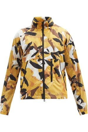 Moncler Oct Abstract Camouflage-print Zip Jacket - Mens - Multi