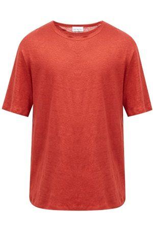 Raey Crew-neck Linen T-shirt - Mens