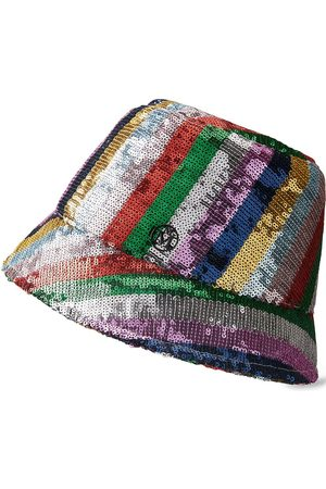 Le Mont St Michel Women Hats - Souna sequin-embellished bucket hat
