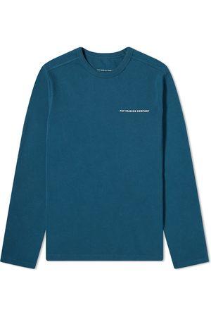 Pop Trading Company Men Long Sleeve - Long Sleeve Logo Tee