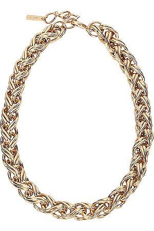 Jennifer Behr Bexley Necklace in Metallic