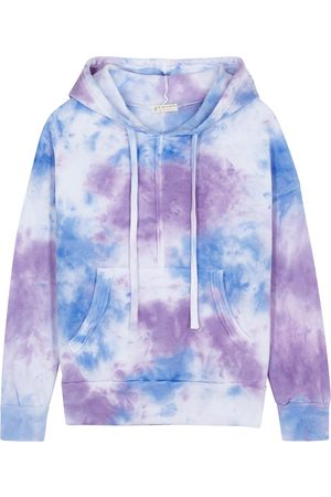 Free People Work It Out tie-dyed hooded sweatshirt