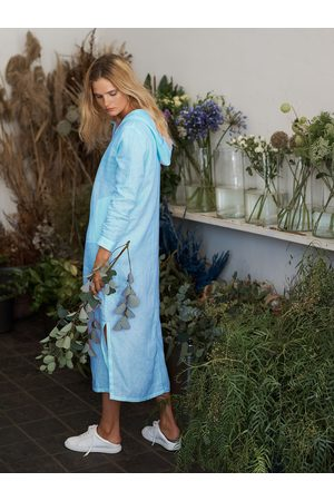 NRBY Sophie hooded maxi dress