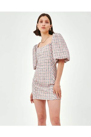C/meo Collective Ink Check Precise Dress