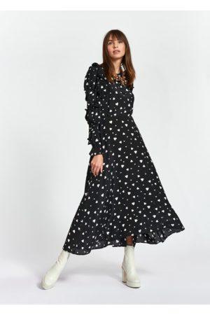Essentiel Antwerp Zangle Ruffled Sleeve Dress