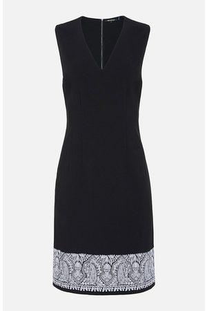 Kobi Halperin Tarah Embroidered Sleeveless Dress