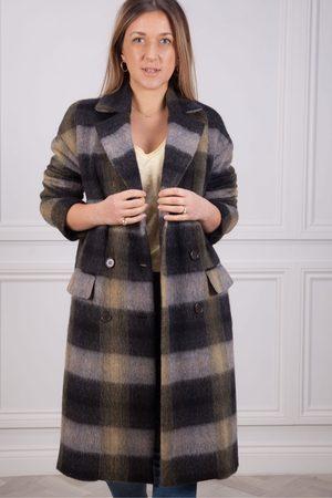 HARTFORD Valley Check Coat