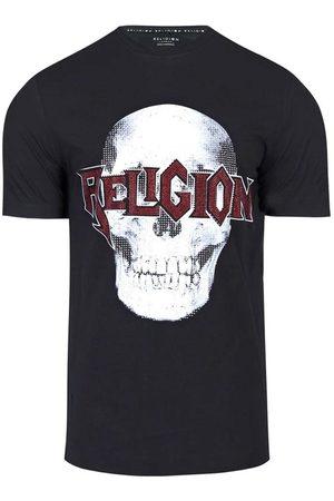 Religion Skeleton bling t-shirt, Colour: