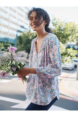 NRBY Women Shirts - Livvie print drapey shirt
