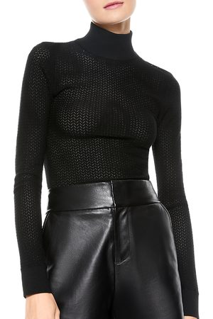 ALICE+OLIVIA Lanie Turtleneck Sweater