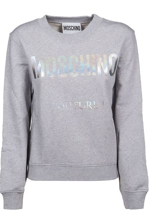 Moschino WOMEN'S A170455271485 GREY COTTON SWEATSHIRT