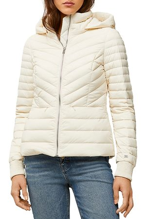 Soia & Kyo Chalee Lightweight Hooded Puffer Jacket