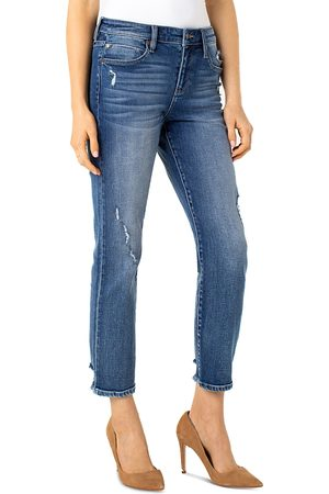 Liverpool Los Angeles Cropped Straight Leg Jeans in Kennedy