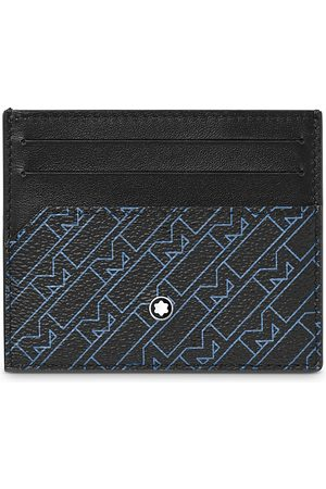 Mont Blanc M Pattern Leather Card Case