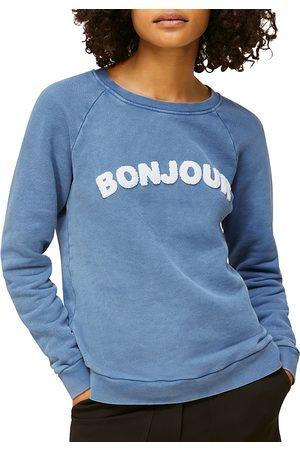 Whistles Bonjour Graphic Sweatshirt