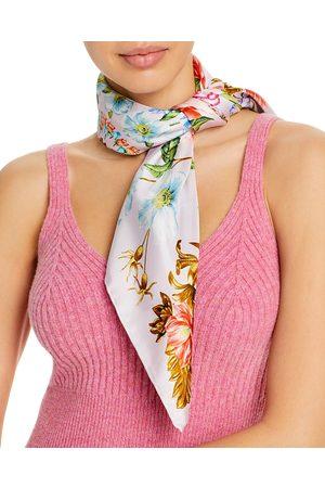 Echo Flourish Floral Silk Scarf