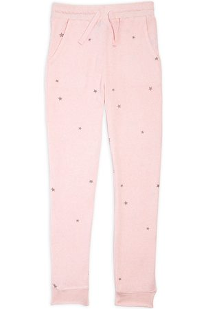 Splendid Girls' Hacci Star Print Joggers - Big Kid