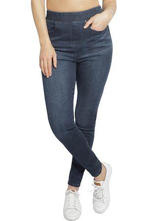 Ingrid & Isabel Maternity Postpartum Pull-On Jeans in Indigo