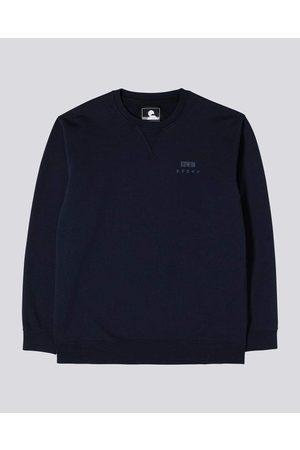 Edwin Base Crew Sweatshirt - Navy Blazer
