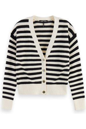 Scotch&Soda Striped Cotton Cardigan