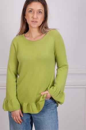 Riani Scoop Neck Sweater in Cezanne Green