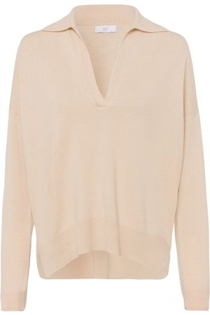Riani Cashmere Collar Knit Colour: Buttermilk