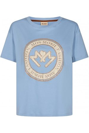 Odyl Leah SS tee in Bel Air Blue