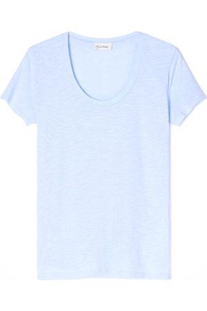 American Vintage Women Short Sleeve - Jacksonville Short Sleeve T-Shirt - Vintage Sky Blue