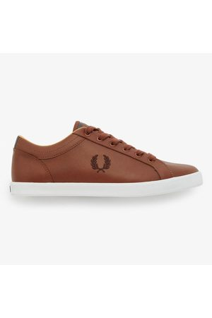 Fred Perry Baseline leather, Title: TAN