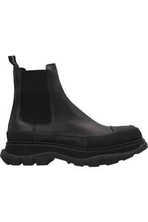 Alexander McQueen MEN'S 634617WHZ611081 OTHER MATERIALS ANKLE BOOTS