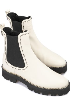 BALDININI Studded smooth leather Chelsea boots