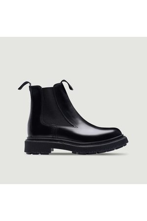 ADIEU PARIS Type 146 x Etudes leather Chelsea boots