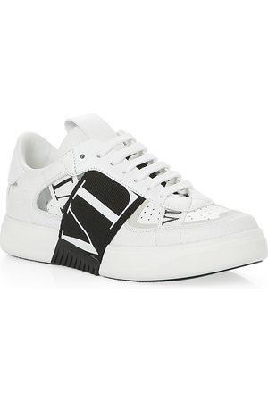 VALENTINO GARAVANI Women's Band Multi Logo Lace Up Sneakers
