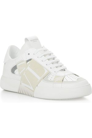 VALENTINO GARAVANI Women's Band Multi Logo Lace Up Sneakers