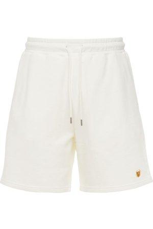 BEL-AIR ATHLETICS Men Shorts - Academy Crest Logo Cotton Shorts