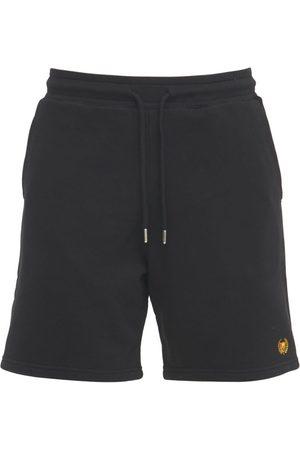 BEL-AIR ATHLETICS Academy Crest Logo Cotton Shorts