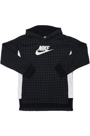 Nike Girls Hoodies - Cotton Blend Sweatshirt Hoodie