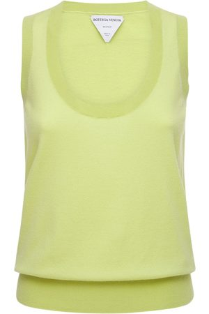 Bottega Veneta Cashmere Knit Sleeveless Top