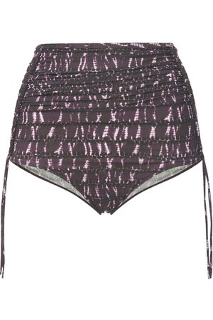 Isabel Marant Nelaris High Rise Printed Bikini Bottoms