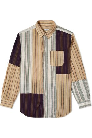 ENGINEERED GARMENTS Men Shirts - Patchwork Stripe Combo Shirt