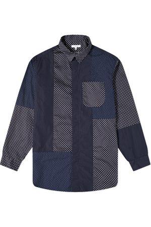 ENGINEERED GARMENTS Polka Dot Patchwork Shirt